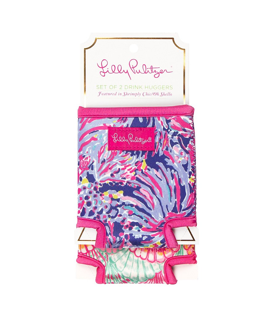 Lilly Pulitzer Drink Hugger Set