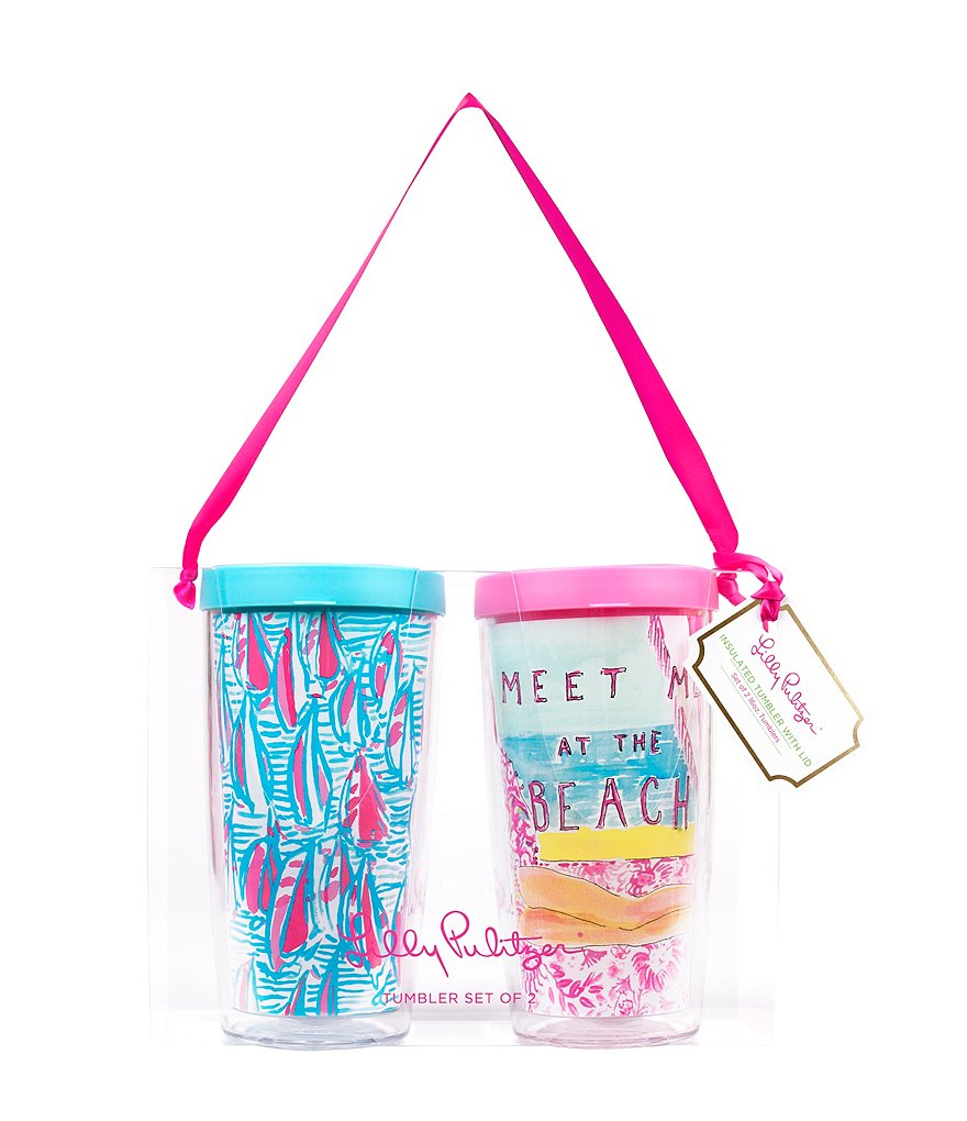 Lilly Pulitzer Insulated Tumbler Set