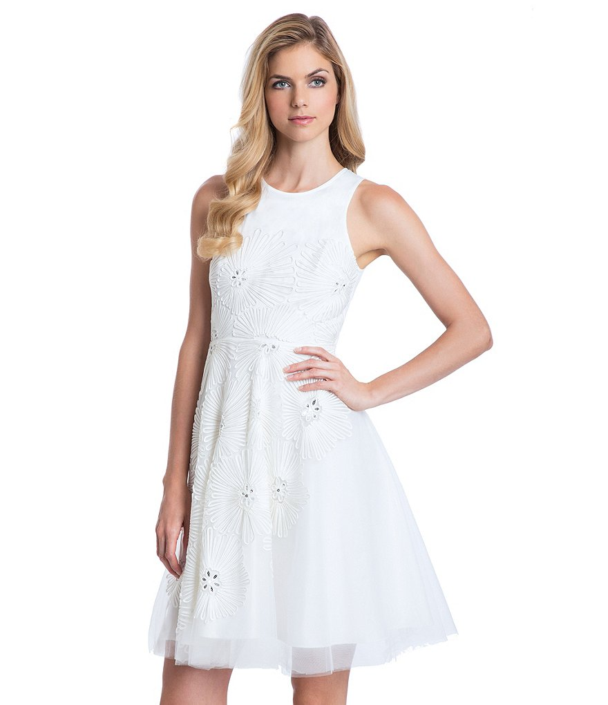 Belle Badgley Mischka Macey Dress