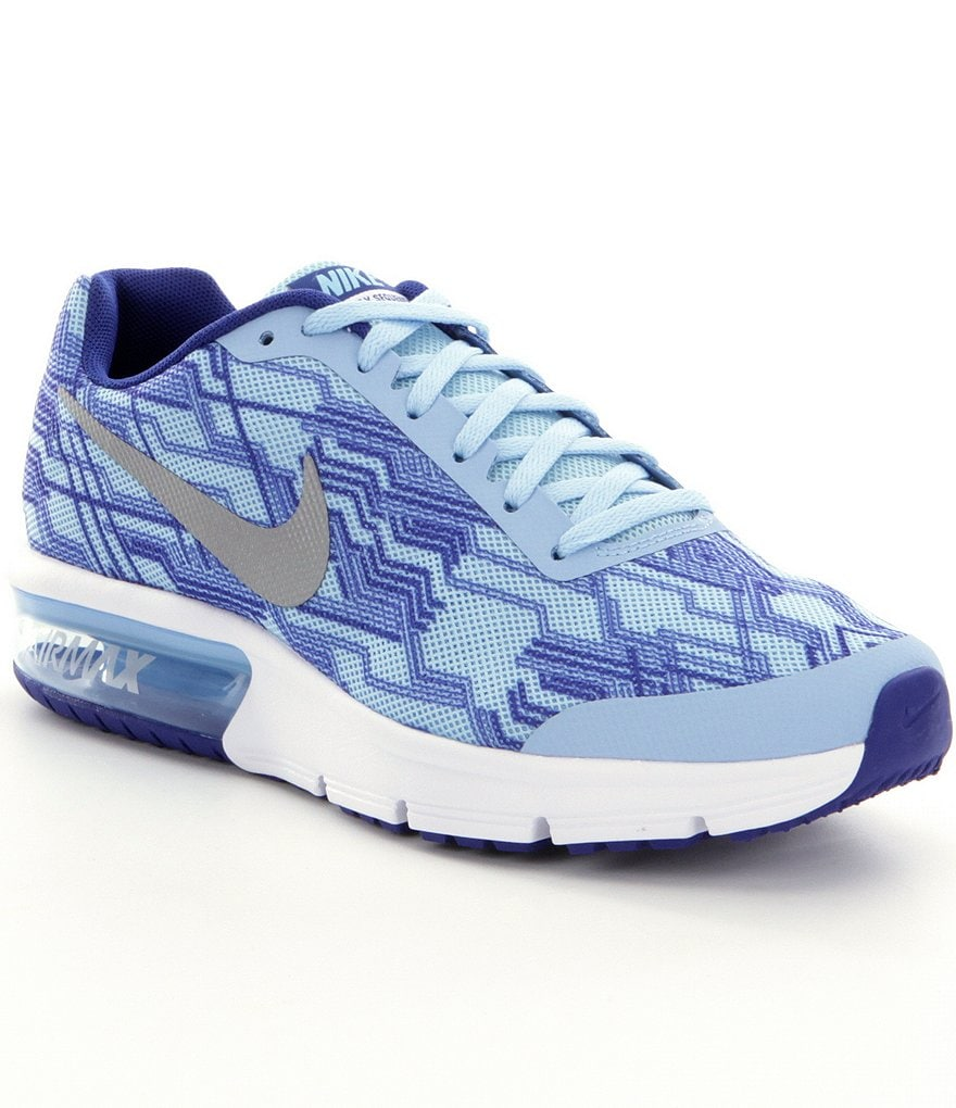 Nike Air Max Girls´ Sequent-Print Shoes