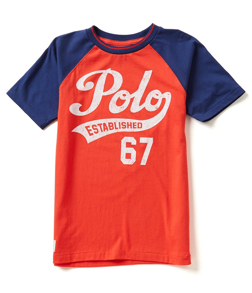 Ralph Lauren Childrenswear Big Boys 8-20 Jersey Tee