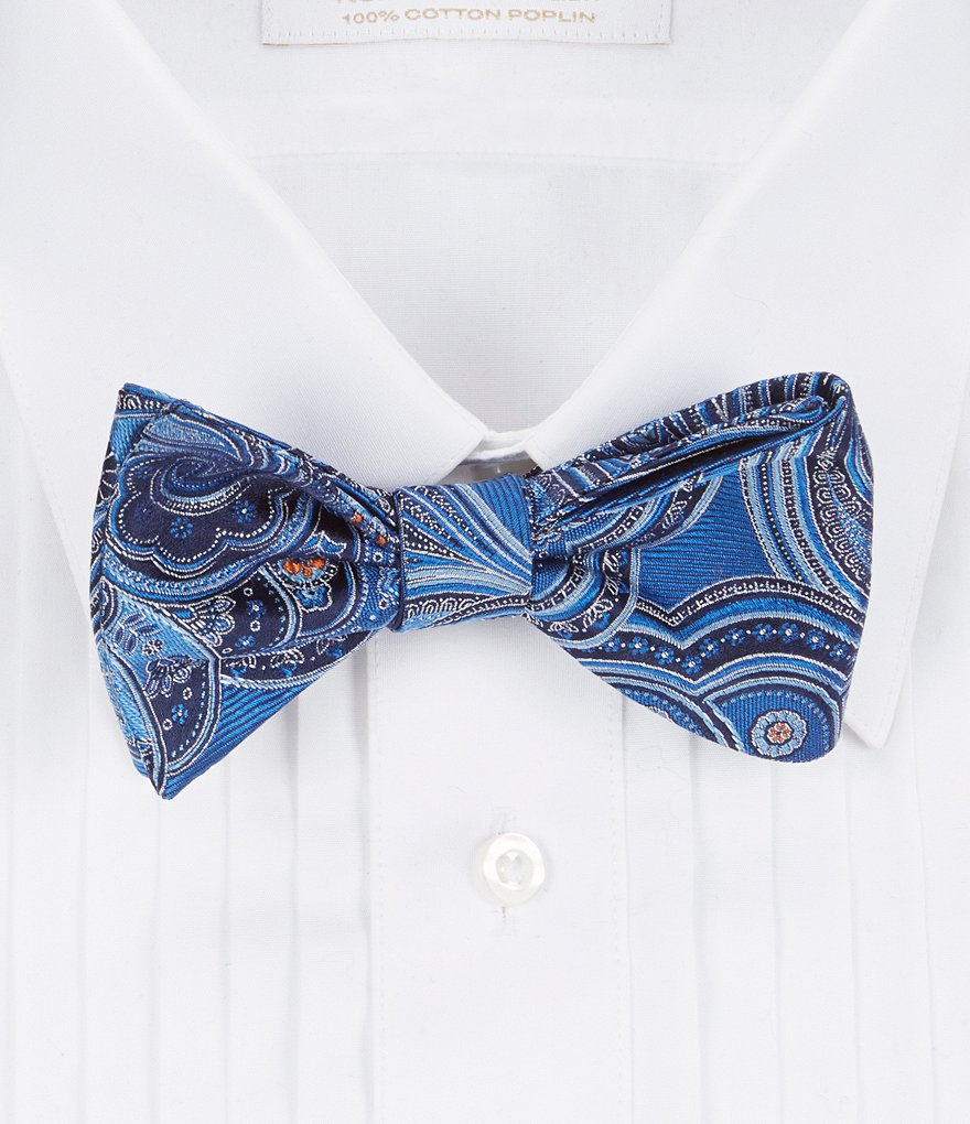 Cremieux Great Paisley Silk Bow Tie