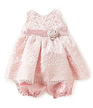 Jayne Copeland Baby Girls 3-24 Months Lace-Overlay Dress