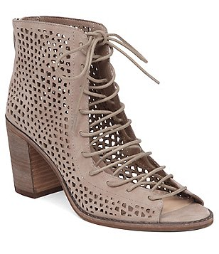 Vince Camuto Tulina Lace-Up Booties