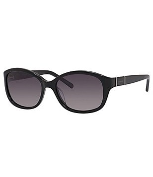 Polaroid Polarized Oval Sunglasses