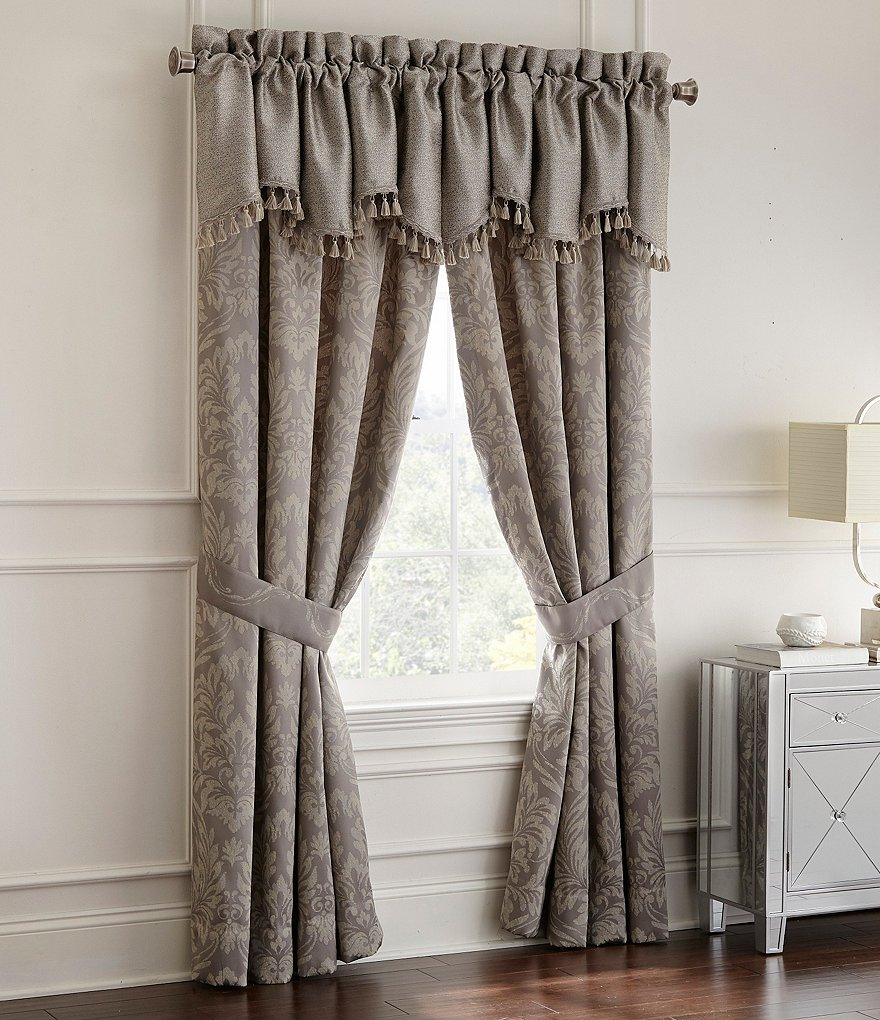 Waterford Montaigne Pebble Damask Jacquard Window Treatments