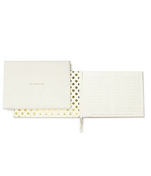 kate spade new york Bridal Collection Wedding Guest Book