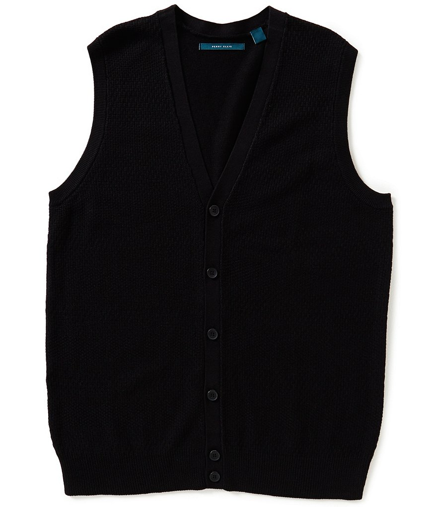 Perry Ellis Big & Tall Sweater Vest