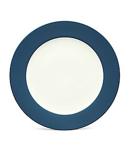 Noritake Colorwave Coupe Rimmed Matte & Glossy Stoneware Salad Plate Image