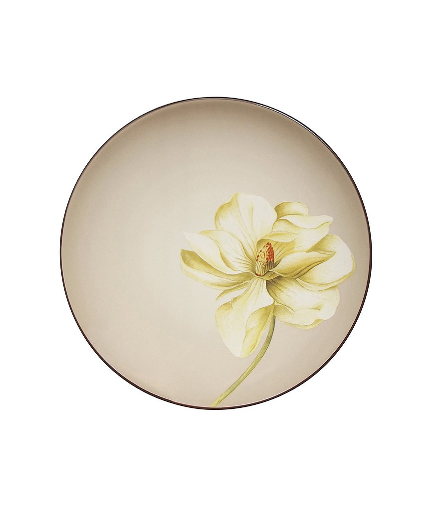 Noritake Colorwave Coupe Floral Stoneware Accent Salad Plate