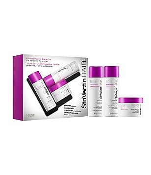 StriVectin HAIR Ultimate Restore Starter Trio for Damaged or Thinning Hair
