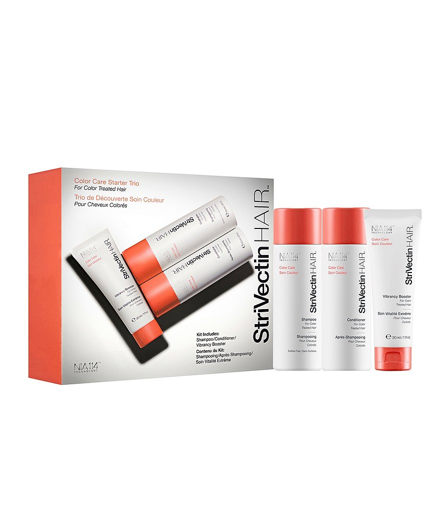 StriVectin HAIR Color Care Starter Trio for Color-Treated Hair