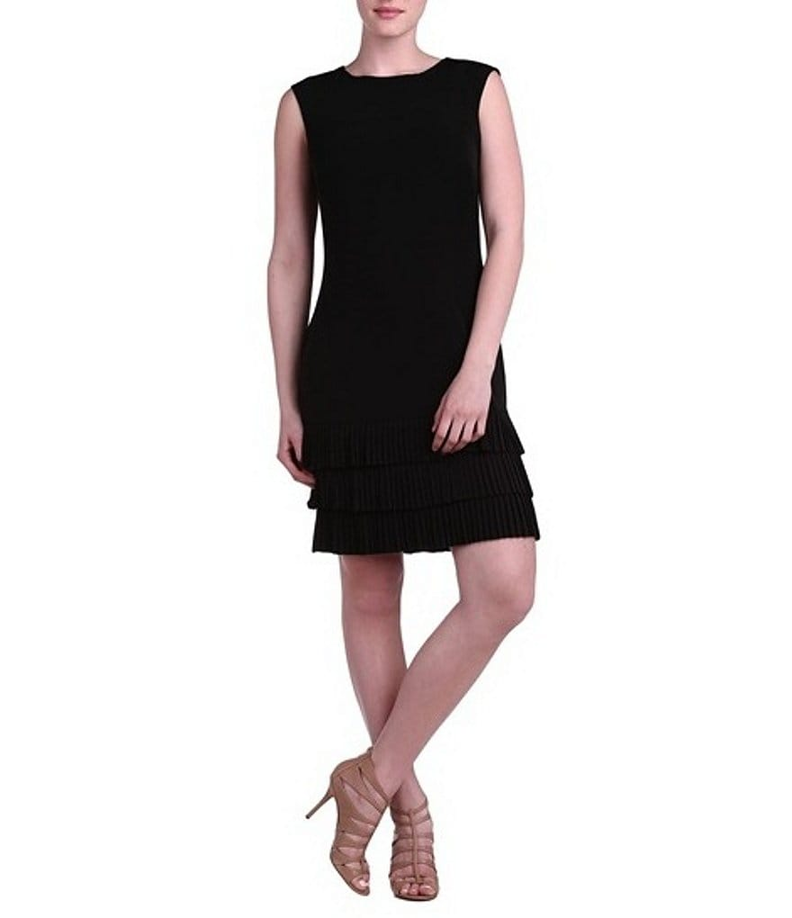Peter Nygard Linda Scoop Neck Dress