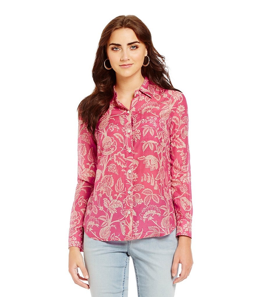 Tommy Bahama Apothecary Blooms Front Button Shirt