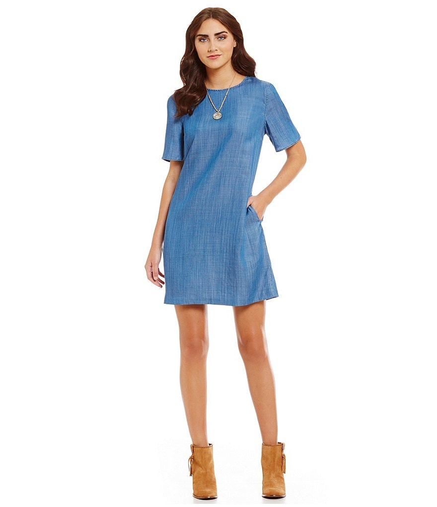 Tommy Bahama Chambray All Day Sun Dress