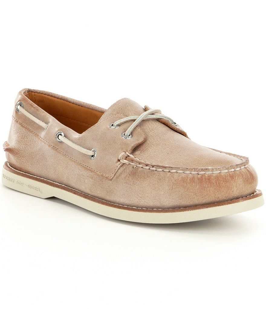 Sperry Men´s Gold Authentic Original 2- Eye Cross Lace