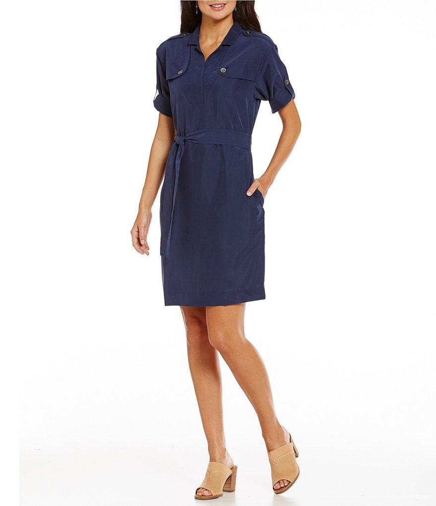 Tommy Bahama Sansabar Trench Shirt Dress