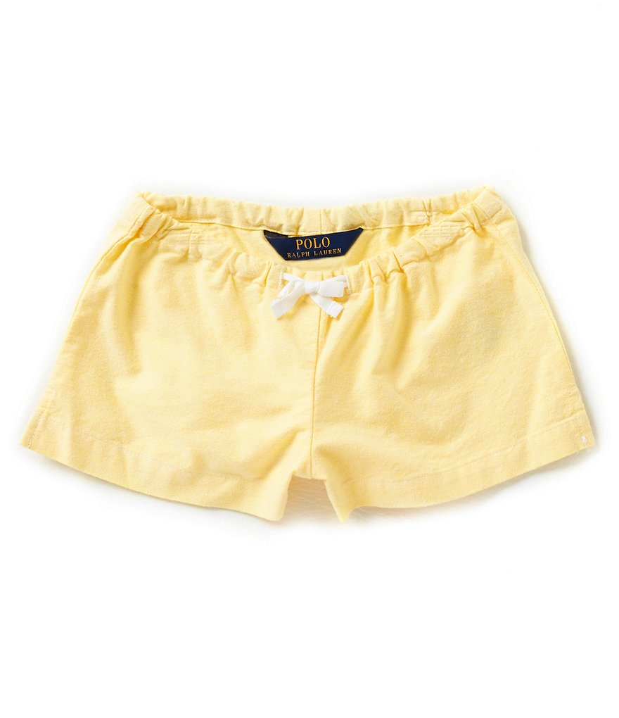 Ralph Lauren Childrenswear Little Girls 2T-6X Oxford Shorts