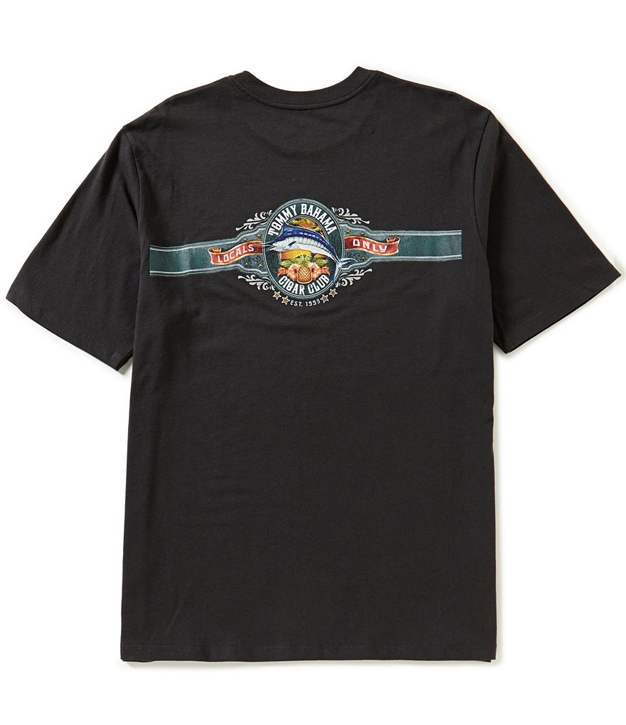 Tommy Bahama Big & Tall Cigar Club Graphic Tee