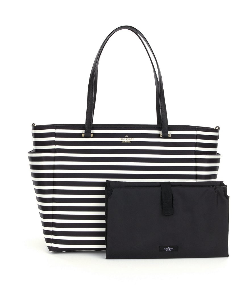 kate spade new york Classic Nylon Betheny Striped Baby Bag