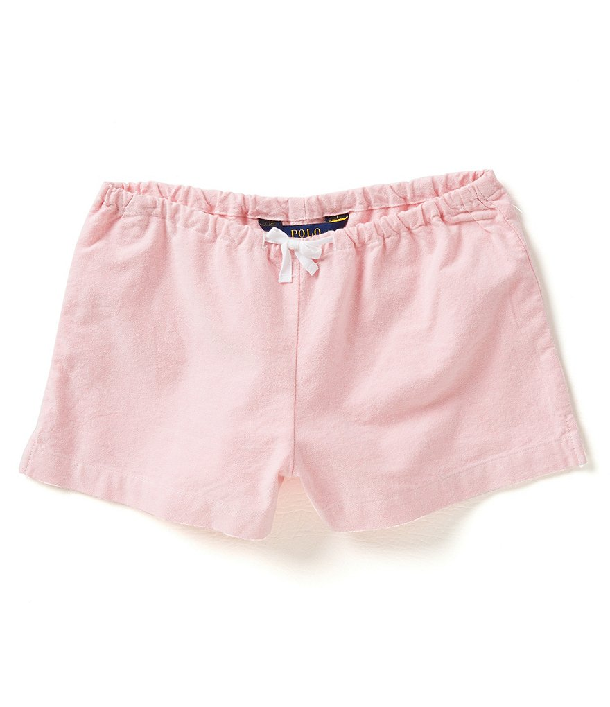 Ralph Lauren Childrenswear Big Girls 7-16 Oxford Shorts