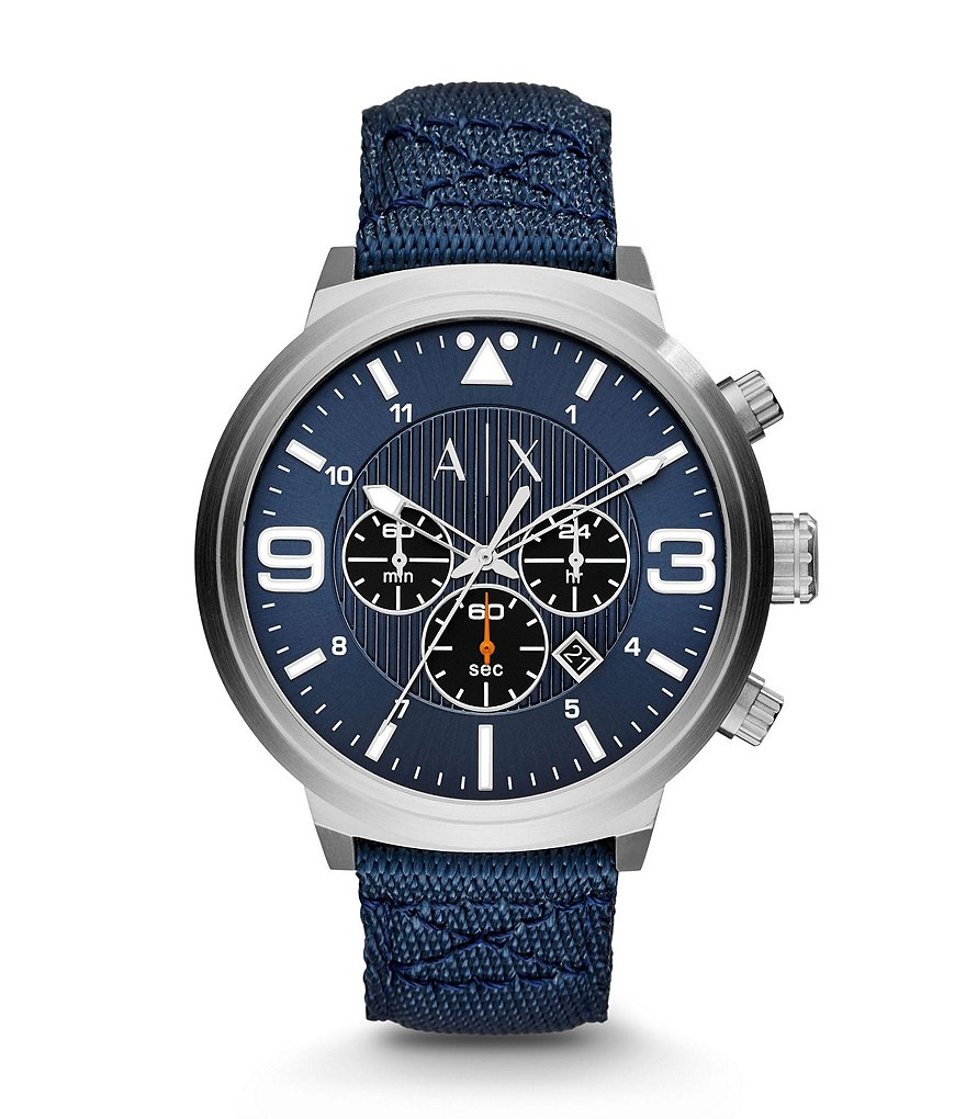 AX Armani Exchange Street Chronograph Watch