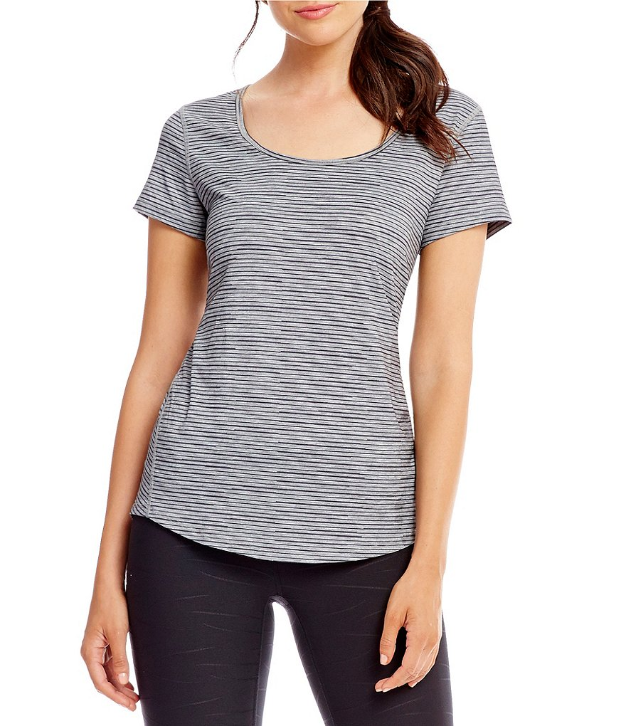 Lucy Active Short Sleeve Workout Tee