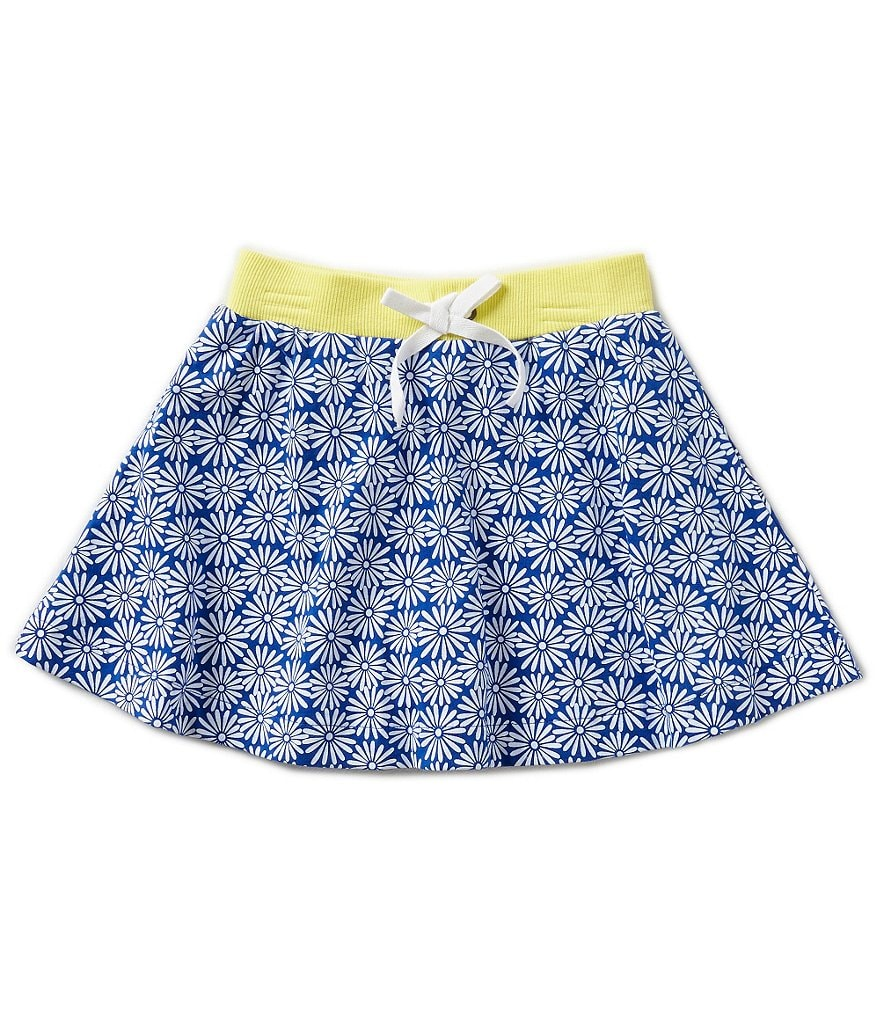 Copper Key Little Girls 2T-4T Flower Print Skort