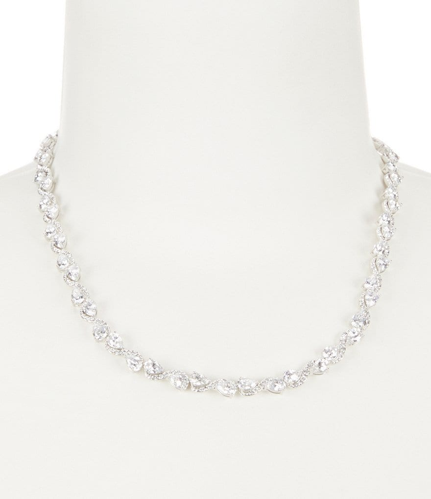 Nadri Infinity Pavé Necklace