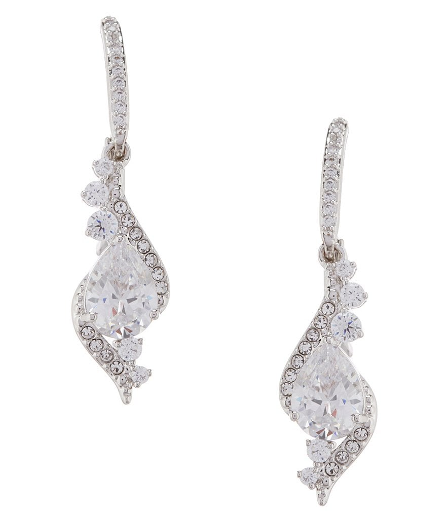 Nadri Infinity Teardrop Earrings