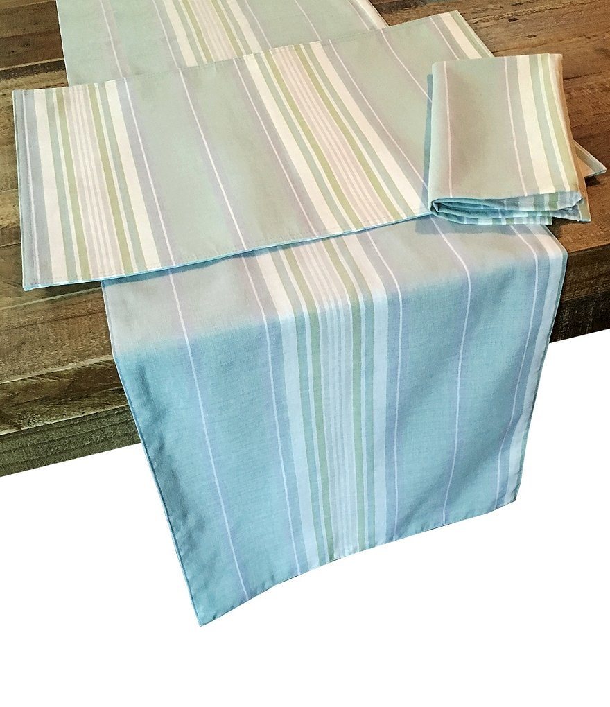 Lenox French Perle Striped Table Linens