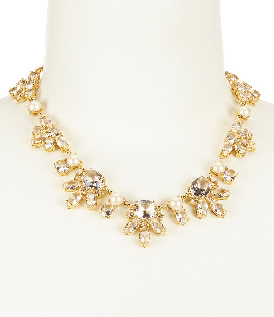 kate spade new york Chantilly Gems Collar Necklace