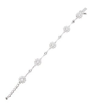 kate spade new york Crystal Bouquet Bracelet