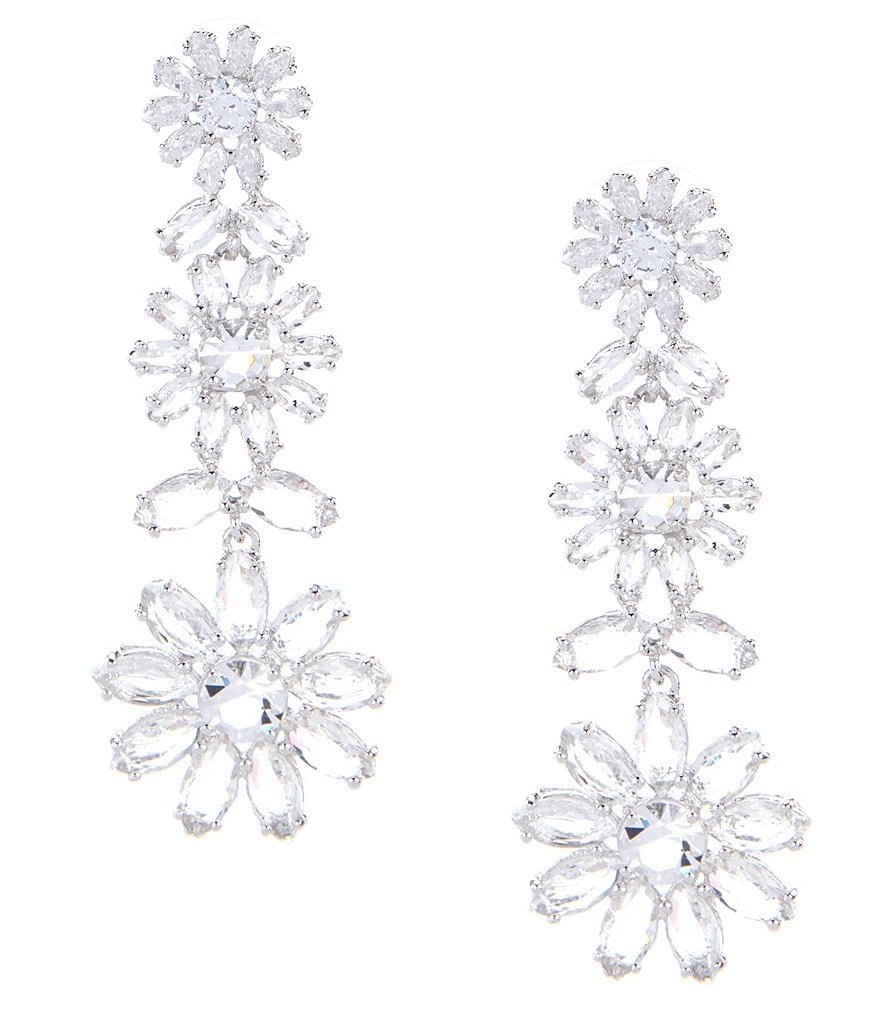kate spade new york Crystal Bouquet Statement Earrings