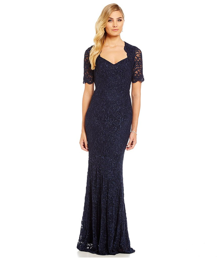 Decode 1.8 Scallop Lace Mermaid Gown