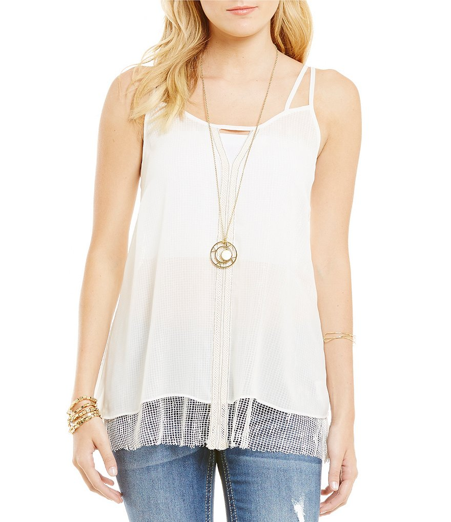 Miss Me Layered Camisole Top