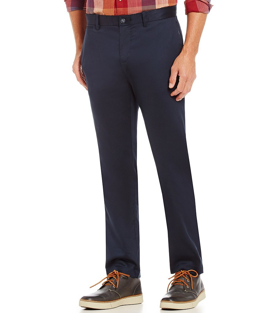 Original Penguin Flat-Front Tech Pants