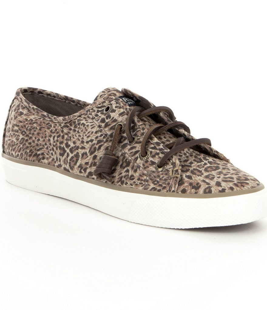 Sperry Seacoast Cheetah Sneakers