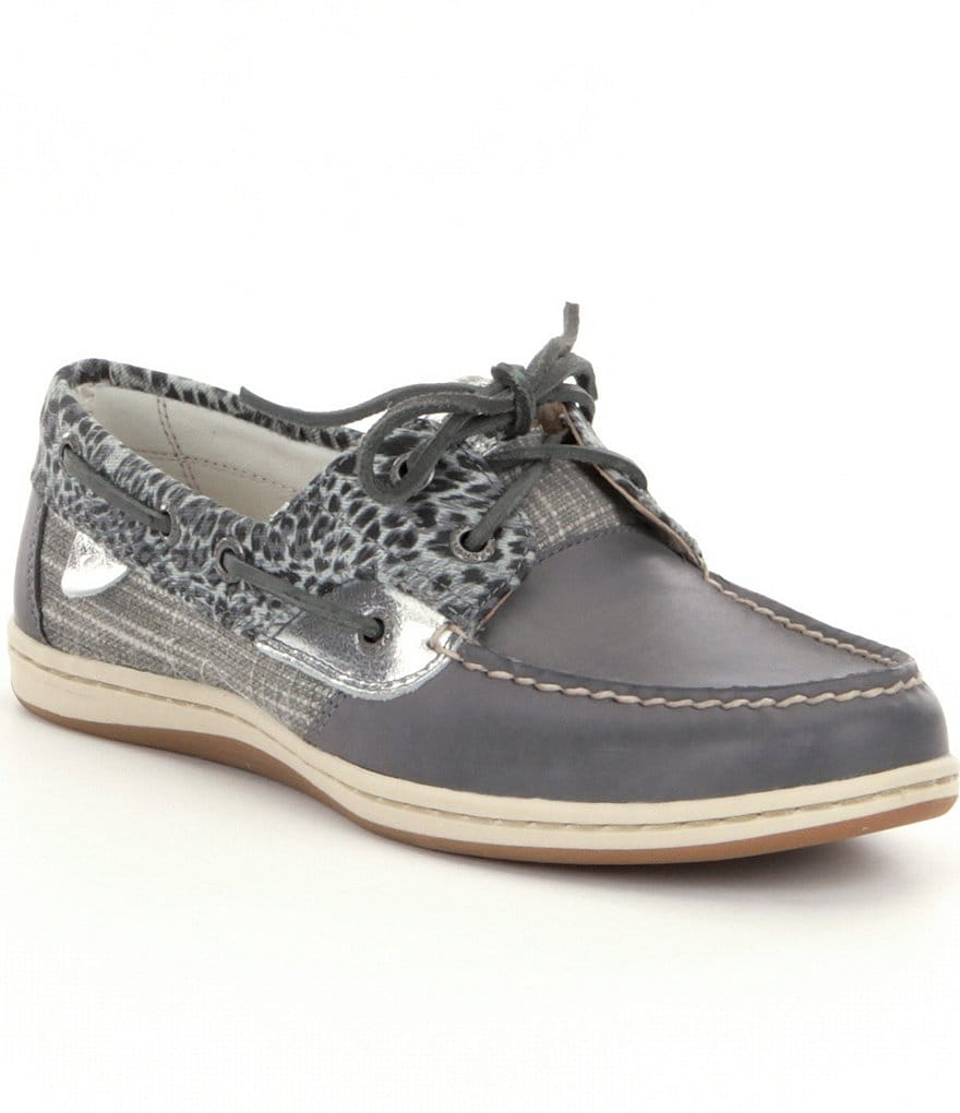Sperry Koifish Cheetah Boat Shoes