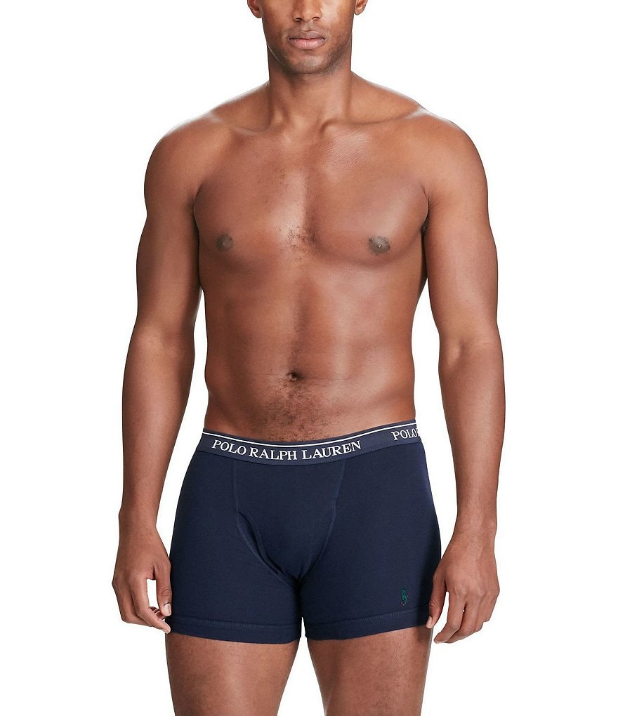 Polo Ralph Lauren Jersey Boxer Briefs Assorted 3-Pack