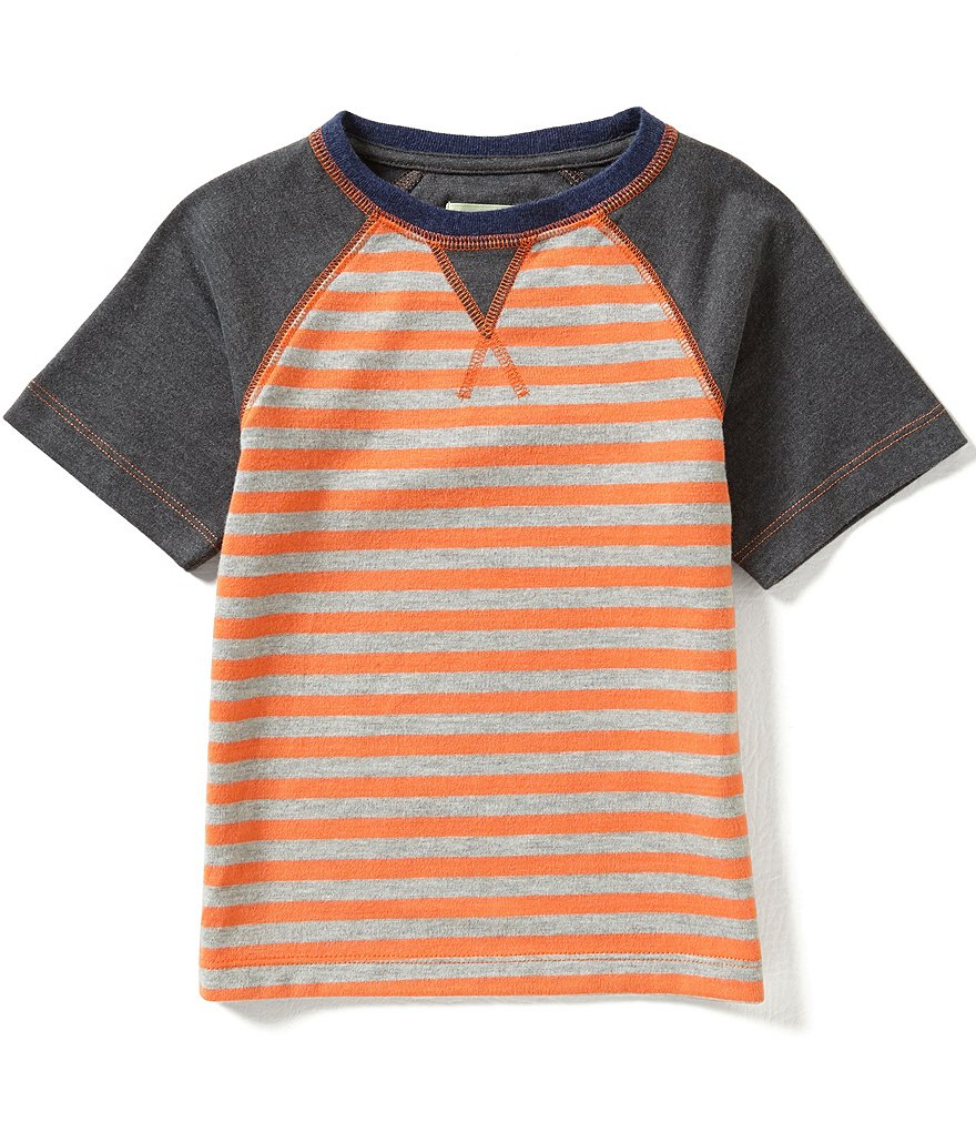 Class Club Little Boys 2T-7 Striped Raglan Tee