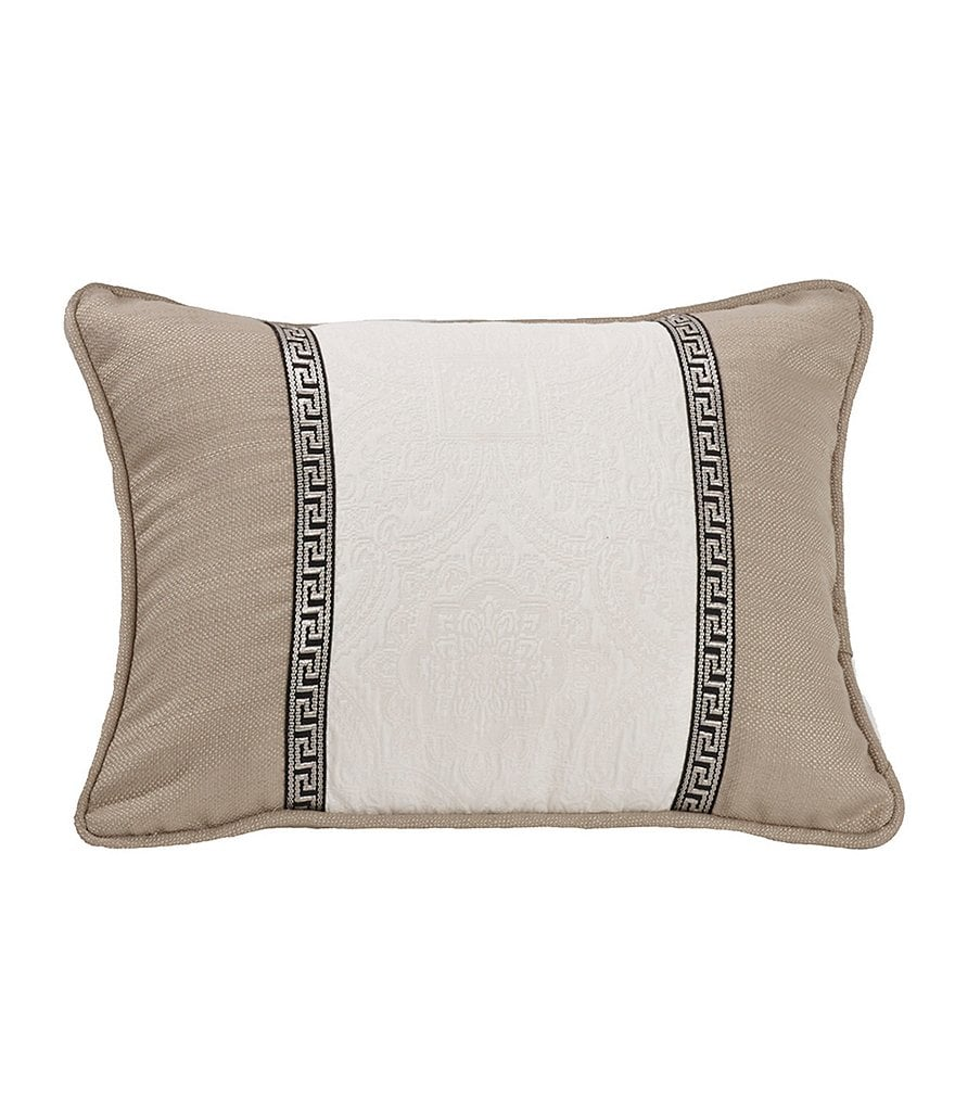 HiEnd Accents Augusta Paneled Pillow