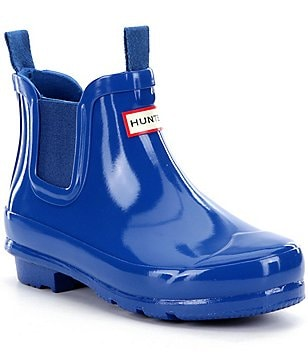 Hunter Kids´ Original Gloss Chelsea Waterproof Rain Boots