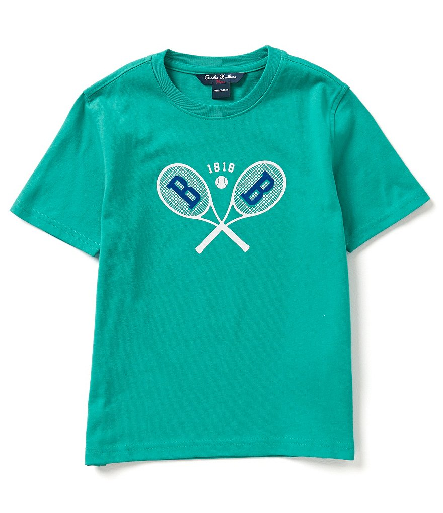 Brooks Brothers Big Boys 4-20 Tennis Tee