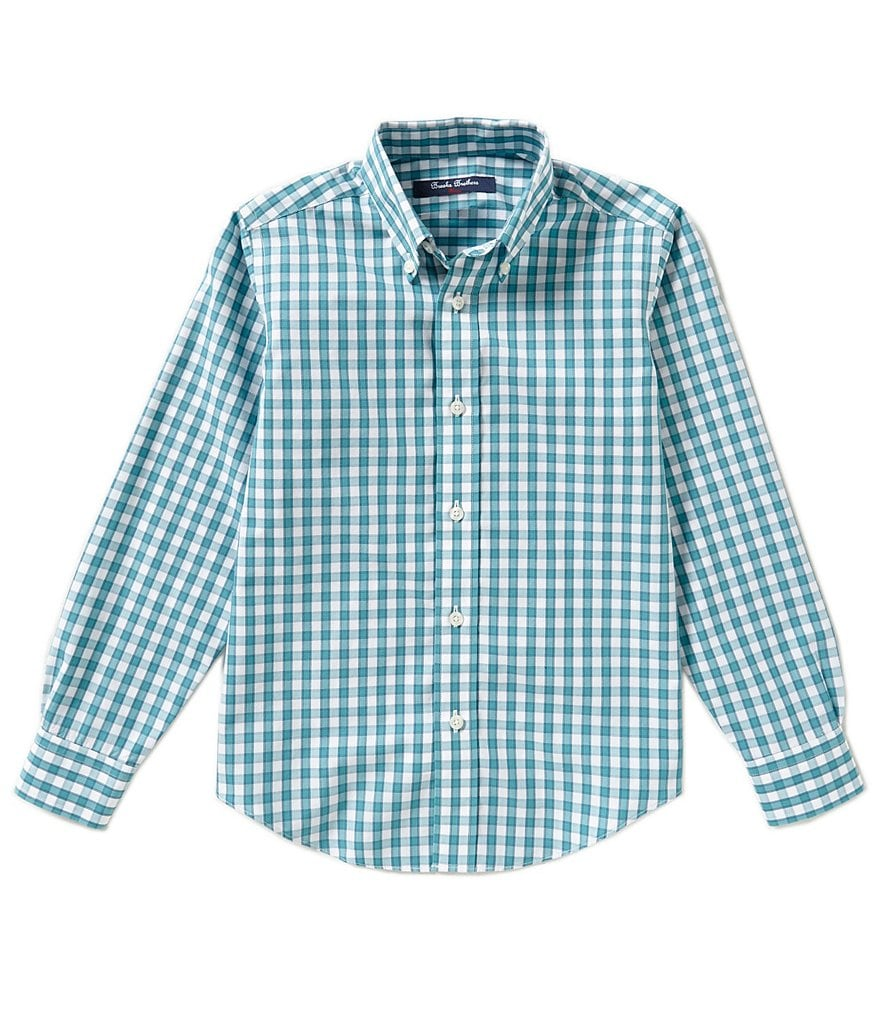 Brooks Brothers 4-20 Non-Iron Mini Checked Shirt