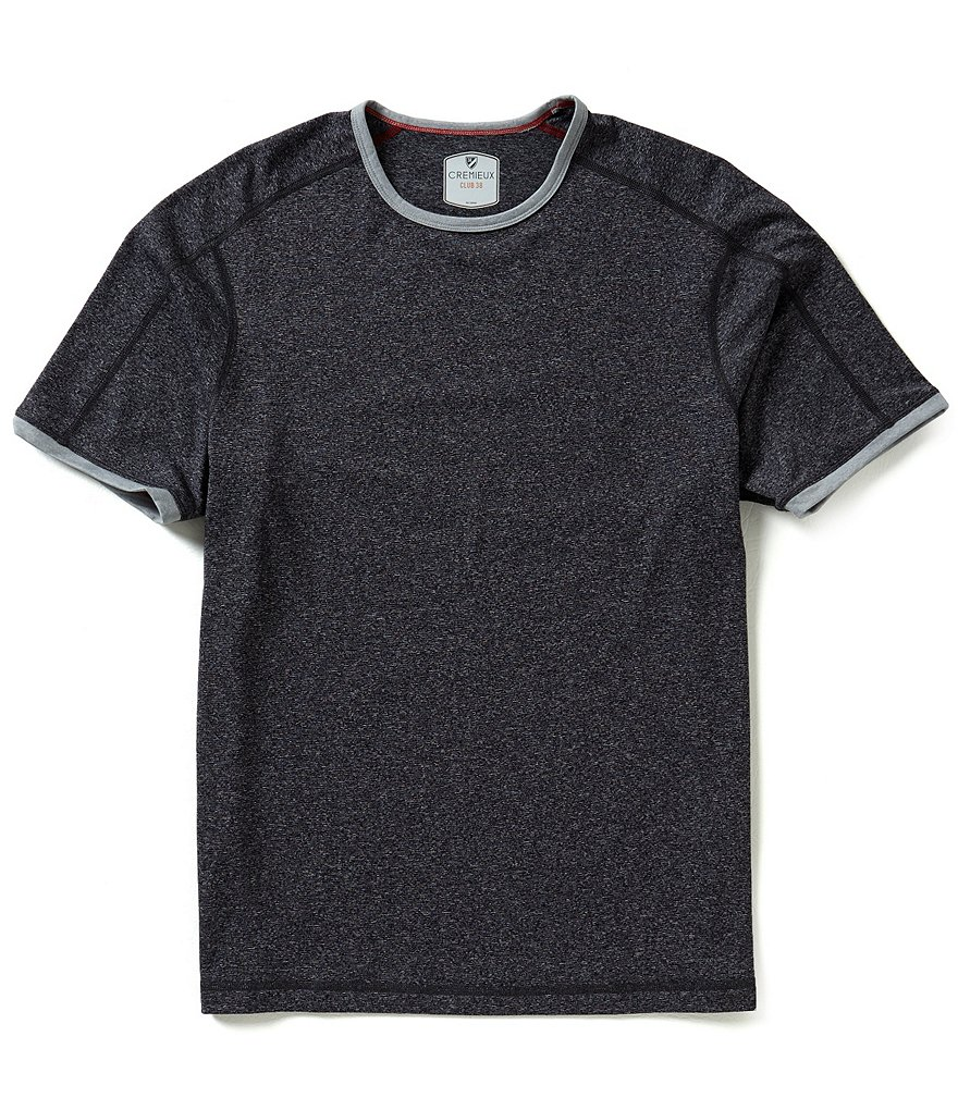 Cremieux Short-Sleeve Color Block Tee