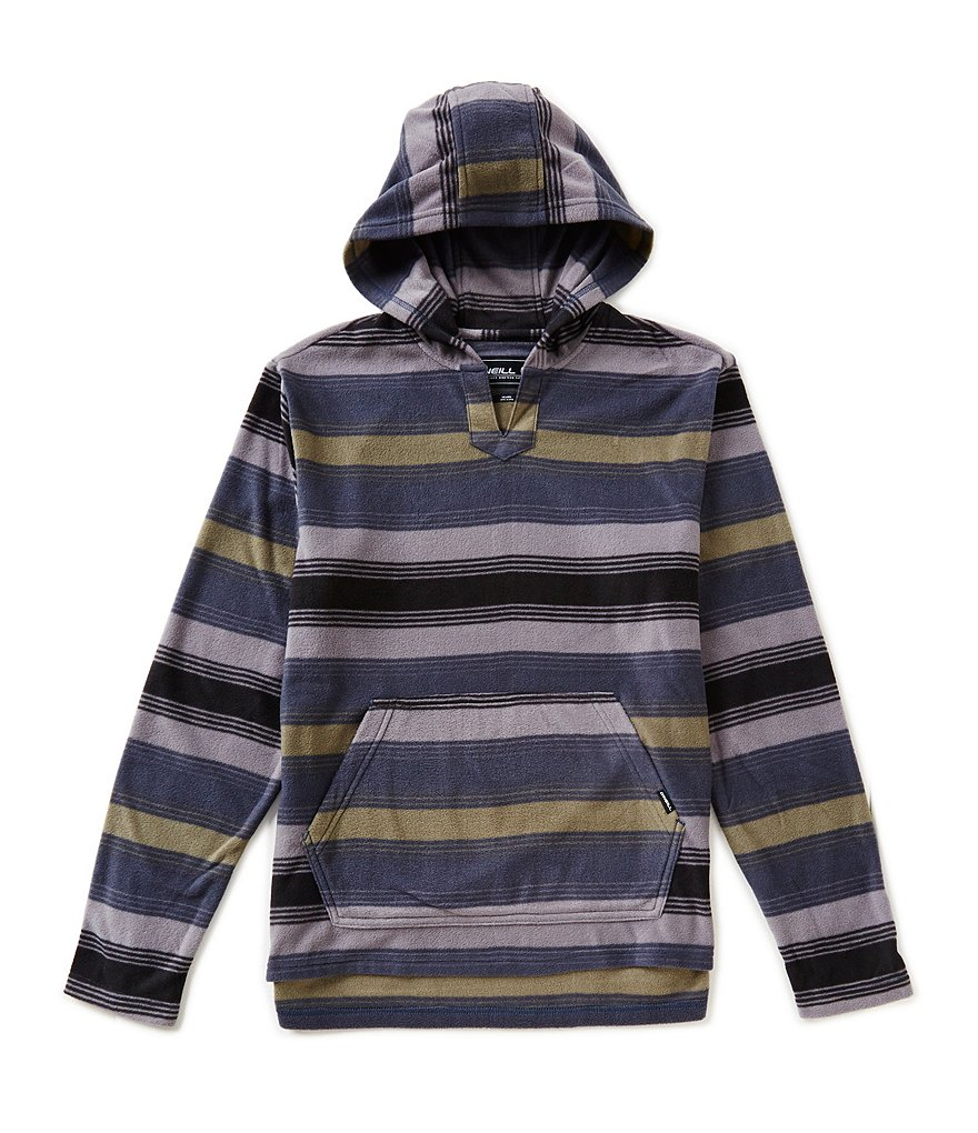 O´Neill Glacier Wide & Thin-Striped Pullover Hoodie