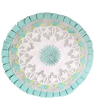 Dena Home Camden Medallion Round Cotton Bath Rug