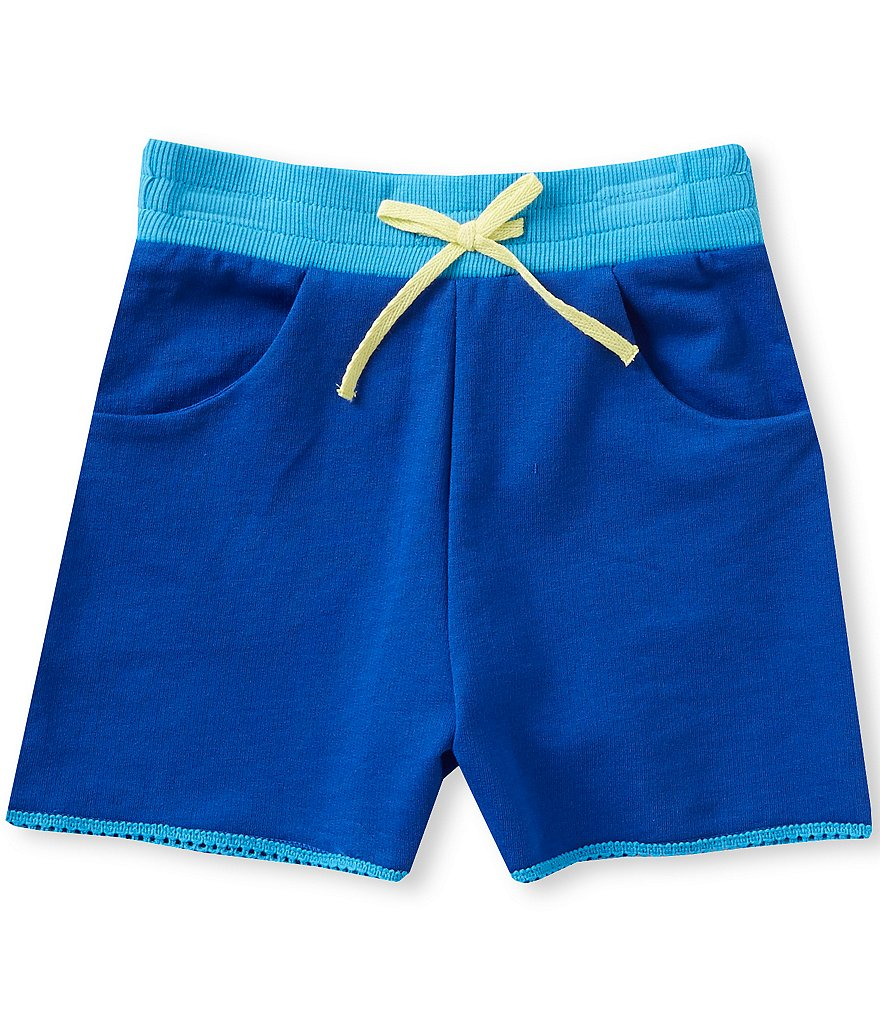 Adventure Wear by Copper Key Little Girls 2T-4T Ribbed-Waist Shorts