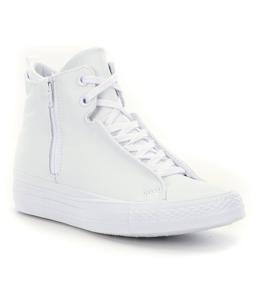 Converse Women´s Selene Mono Leather Hi-Top Sneaker